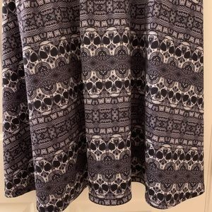 torrid Dresses - TORRID maxi dress - black & white pattern w/skulls